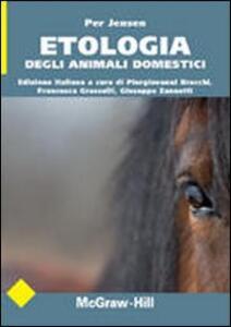 Etologia degli animali domestici - Per Jensen - copertina