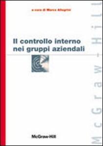 Il controllo interno nei gruppi aziendali