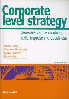 Parcoarenas.it Corporate Level Strategy Image