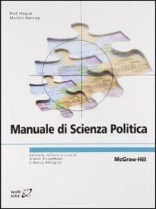 Libro Manuale di scienza politica Rod Hague , Martin Harrop