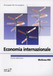 Libro Economia internazionale Giuseppe De Arcangelis
