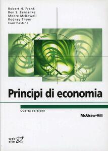 Libro Principi di economia Robert H. Frank , Ben S. Bernake