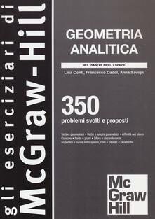 Voluntariadobaleares2014.es Geometria analitica. 350 problemi svolti e proposti Image