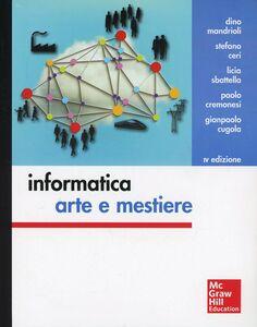 Libro Informatica: arte e mestiere