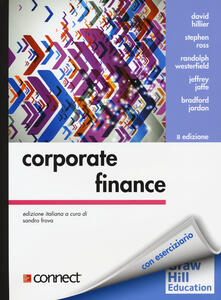 Corporate finance - copertina