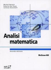 Camfeed.it Analisi matematica. Con aggiornamento online Image