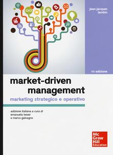 Milanospringparade.it Market-driven management. Marketing strategico e operativo Image
