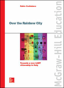 Libro Over the rainbow city Fabio Corbisiero