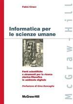 Informatica per le scienze umane