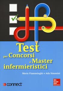 Test per concorsi e master infermieristici. Con Connect - Meris Fiamminghi,Ada Simmini - copertina