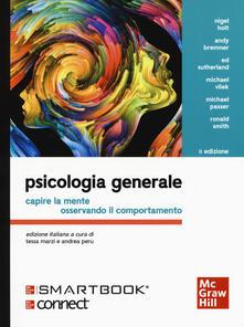 Psicologia generale. Capire la mente osservando il comportamento. Con Connect - copertina