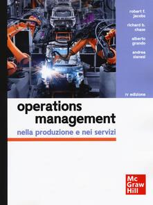Camfeed.it Operations management nella produzione e nei servizi. Con Connect Image