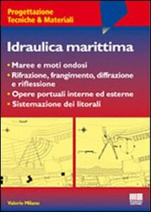 Libro Idraulica marittima Valerio Milano