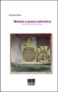 Libro Metodo e prassi estimativa Gianfranco Brusa