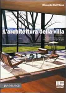 Libro L' architettura della villa Riccardo Dell'Osso