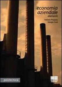 Economia aziendale. Elementi - Giorgio Corti,Adriano Propersi - copertina