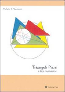 Libro Triangoli piani e loro risoluzione Michele T. Mazzucato