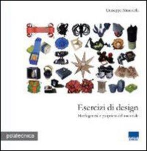 Libro Esercizi di design Giuseppe Mincolelli