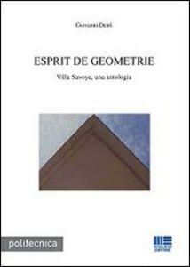 Libro Esprit de geometrie Giovanni Denti