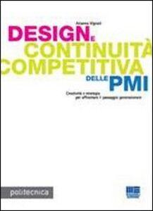 Libro Design e continuità competitiva delle PMI Arianna Vignati
