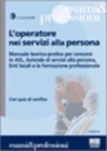 Libro L' operatore nei servizi alla persona
