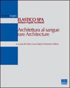 Foto Cover di Architettura al sangue rare Architecture, Libro di  edito da Maggioli Editore