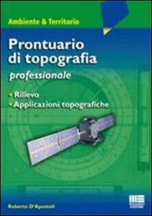 Ipabsantonioabatetrino.it Prontuario di topografia Image