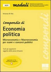 Libro Compendio di economia politica Vincenzo Di Vita