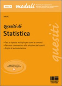 Libro Quesiti di statistica Andrea Petrucci