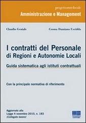 I contratti del personale di regioni e autonomie locali