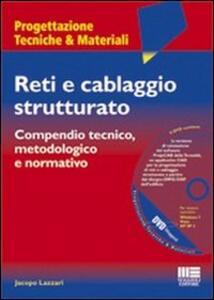 Reti e cablaggio strutturato. Con DVD - Jacopo Lazzari - copertina