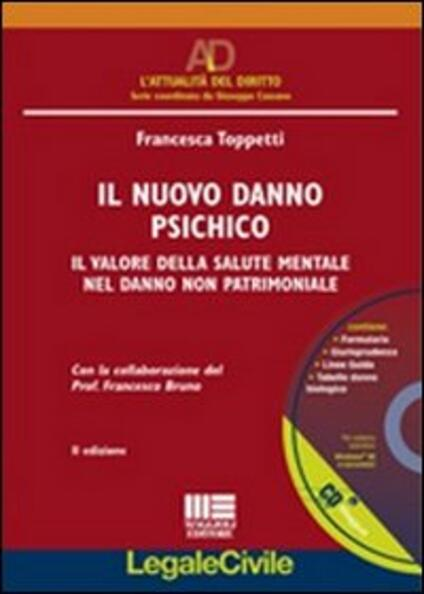 Il nuovo danno psichico. Con CD-ROM - Francesca Toppetti - copertina