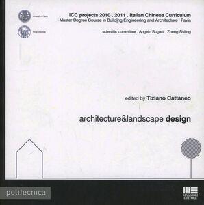 Libro Architecture & landscape design Tiziano Cattaneo