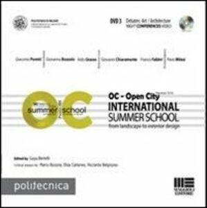 Foto Cover di OC-Open City. International summer school. Con DVD. Vol. 3, Libro di Guya Bertelli, edito da Maggioli Editore