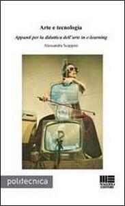 Libro Arte e tecnologia Alessandra Scappini