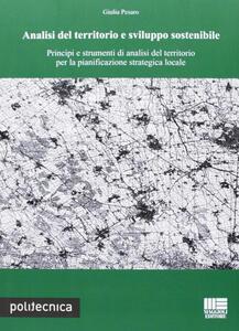 Analisi del territorio e sviluppo sostenibile - Giulia Pesaro - copertina