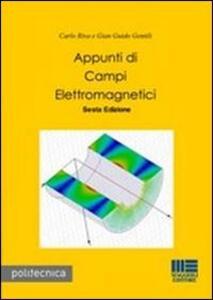 Appunti di campi elettromagnetici - G. Guido Gentili,Carlo Riva - copertina