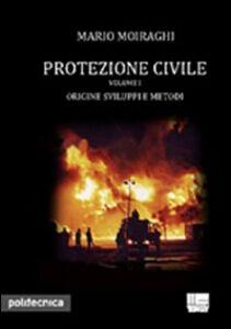 Libro Protezione civile Mario Moiraghi