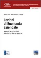 Lezioni di economia aziendale. Manuale per gli studenti delle facoltà non economiche