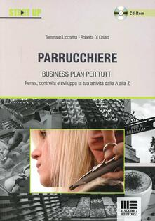 Aboutschuster.de Parrucchiere. Business plan per tutti. Con CD-ROM Image