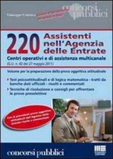 220 assistenti nellAgenzia delle entrate.pdf