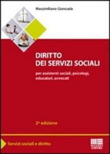Vitalitart.it Diritto dei servizi sociali. Per assistenti sociali, psicologi, educatori, avvocati Image