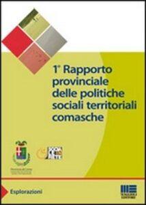 Foto Cover di Primo rapporto provinciale delle politiche sociali territoriali comasche, Libro di  edito da Maggioli Editore
