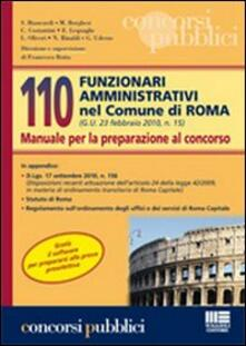 Mercatinidinataletorino.it 110 funzionari amministrativi nel Comune di Roma. Manuale per la preparazione al concorso Image