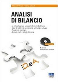 Analisi di bilancio. Con CD-ROM - Antonelli Valerio D'Alessio Raffaele - wuz.it