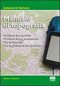 Manuale di topografia - Roberto D'Apostoli - copertina