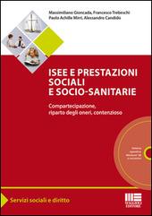 Isee e prestazioni sociali e socio-sanitarie. Compartecipazione, riparto degli oneri, contenzioso