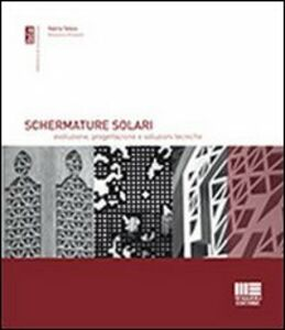 Libro Schermature solari Massimo Rossetti , Valeria Tatano