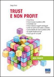 Trust e non profit - Sergio Ricci - copertina