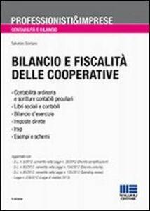 Foto Cover di Bilancio e fiscalità delle cooperative, Libro di Salvatore Giordano, edito da Maggioli Editore